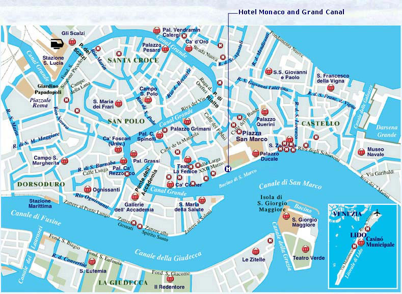 Map Of Europe Venice